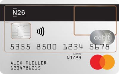 N26 prepaid creditcard