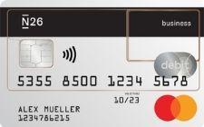 N26 zakelijke bankrekening