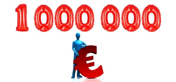 Hoeveel rente op 1 miljoen euro
