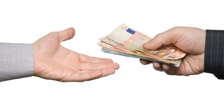 Betalen met contant geld